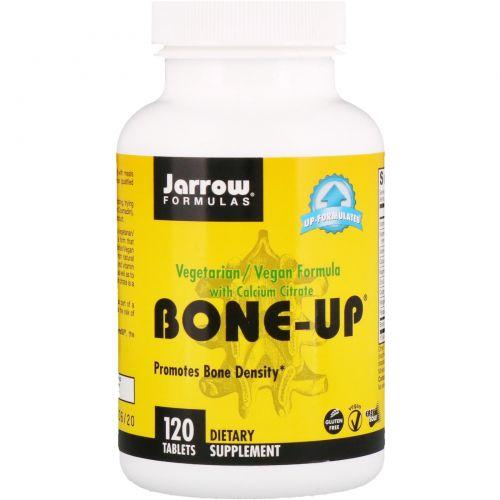 Jarrow Formulas, Bone-Up, с цитратом кальция, 120 таблеток