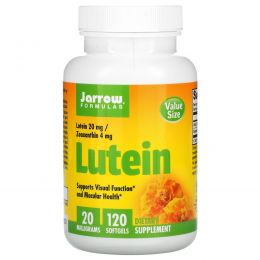 Jarrow Formulas, Лютеин, 20 мг, 120 мягких желатиновых капсул с жидкостью