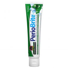 Nature's Answer, Periobrite Природная зубная паста, Прохладная мята, 4 oz (113.4г)