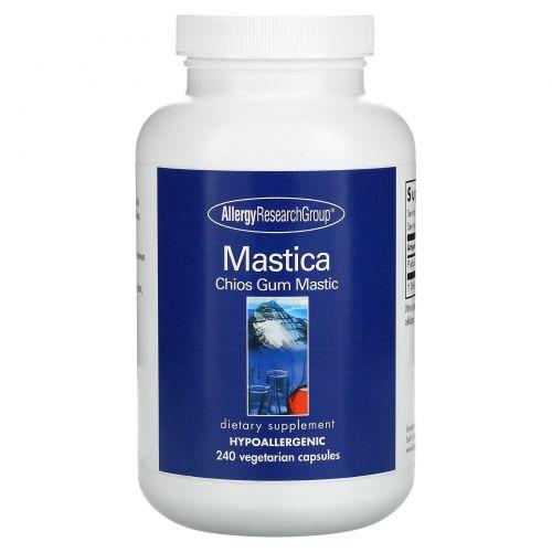 Allergy Research Group, Mastica, Chios Gum Mastic, 240 Vegetarian Capsules