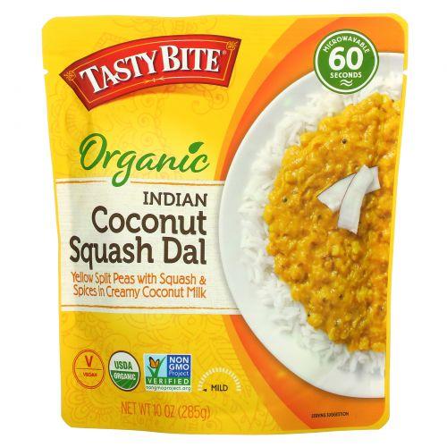 Tasty Bite, Organic, Indian Coconut Squash Dal, Mild,  10 oz (285 g)
