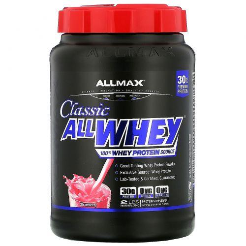 ALLMAX Nutrition, AllWhey Classic, 100% Whey Protein, Strawberry, 2 lbs (907 g)