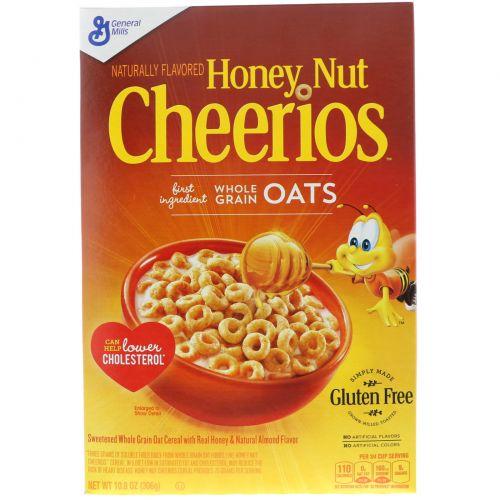 General Mills, Honey Nut Cheerios, 10,8 унций (306 г)