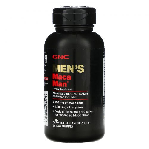 GNC, Men's Maca Man, 60 Vegetarian Caplets
