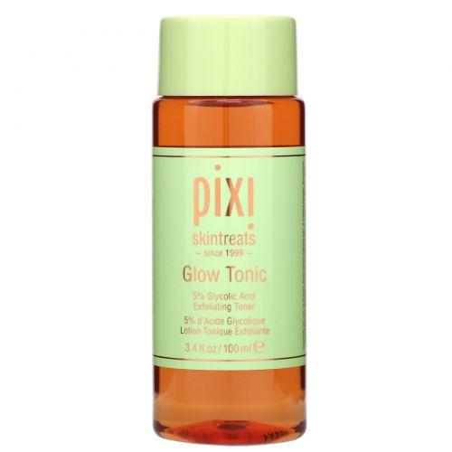 Pixi Beauty, Skintreats, тоник для сияющей кожи, отшелушивающий тоник, для всех типов кожи, 3,4 ж. унц.(100 мл)