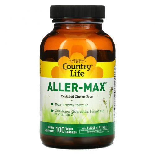 Country Life, Aller-Max, 100 вегетарианских капсул