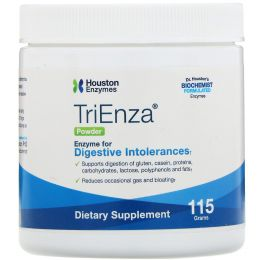 Houston Enzymes, Порошок TriEnza с DPP IV активностью, 115 г