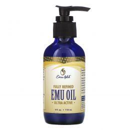 Emu Gold, 100% натуральный жир эму, ультра активный, 4ж.унций (120 мл)