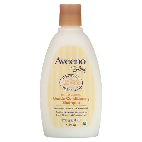 Aveeno, Мягкий детский шампунь-кондиционер с легким ароматом, 12 жидких унций (354 мл)
