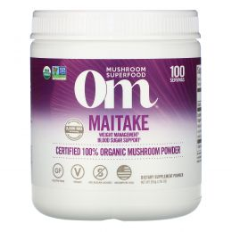 Organic Mushroom Nutrition, Красота +, с грибами чага и коллагеном, клубничный лимонад, 10 пакетиков по 0,22 унц. (6,2 г) каждый