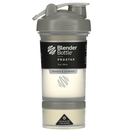Sundesa, BlenderBottle, ProStak, Pebble Grey, 22 oz