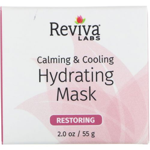 Reviva Labs, Calming & Cooling, Hydrating Mask, 2.0 oz (55 g)