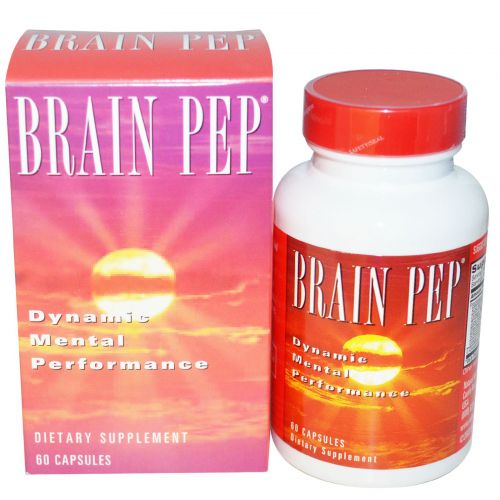 Natural Balance, Brain Pep, 60 Veggie Caps