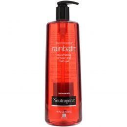 Neutrogena, Rainbath, Rejuvenating Shower and Bath Gel, Pomegranate, 16 fl oz (473 ml)