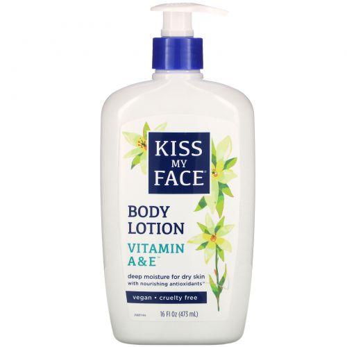 Kiss My Face, Vitamin A & E Body Lotion, 16 fl oz (473 ml)