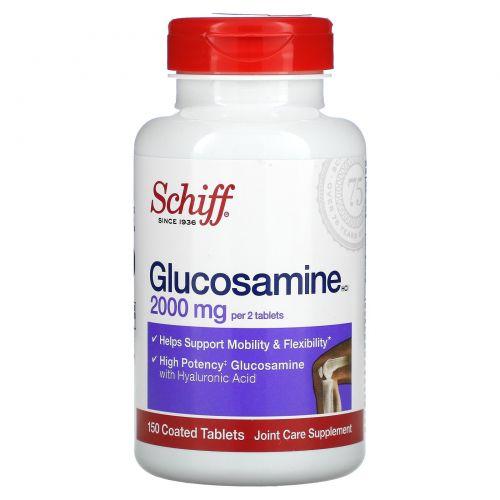 Schiff, Глюкозамин, 2000мг, 150таблеток, покрытых оболочкой