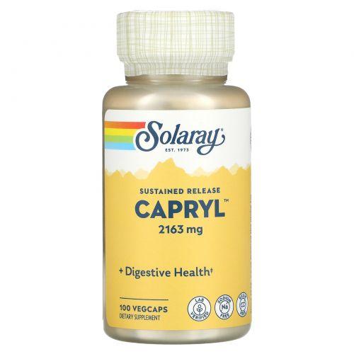 Solaray, Каприл, замедленно высвобождение,100 капсул в растительной оболочке