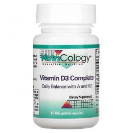 Nutricology, Полноценный витамин D3, 60 рыбных желатиновых капсул