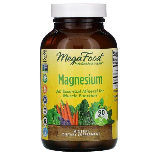 MegaFood, Магний, 90 таблеток