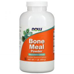 Now Foods, Порошок костной муки, 1 фунт (454 г)