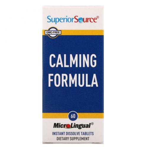 Superior Source, Успокоительное средство, 60быстрорастворимых таблеток