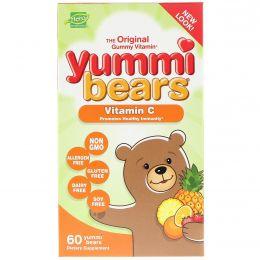 Hero Nutritional Products, Мармеладные фигурки мишек, витамин C, только натуральные ароматизаторы, 60 мармеладных мишек