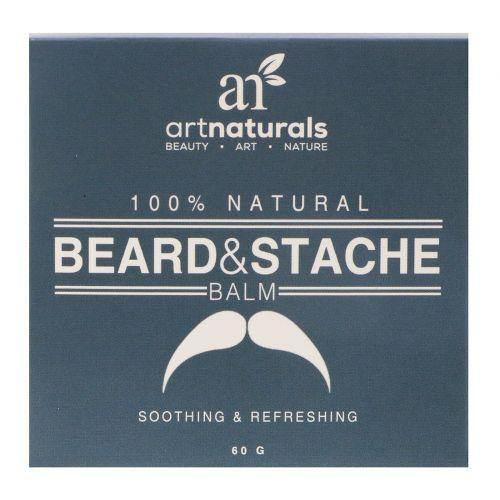 Artnaturals, На 100% натуральный бальзам для бороды и усов, 60 г