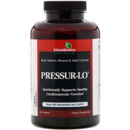 FutureBiotics, Pressur-Lo, Мультивитаминная, Минеральная и Травяная Формула 270 таблеток