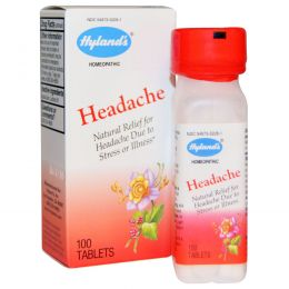 Hyland's, От головной боли, 100 таблеток