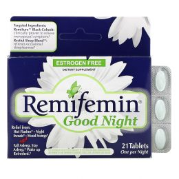 Enzymatic Therapy, Ремифемин, «Спокойной ночи», 21 таблетка
