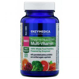 Enzymedica, Мультивитамины Enzyme Nutrition, для женщин, 120 капсул