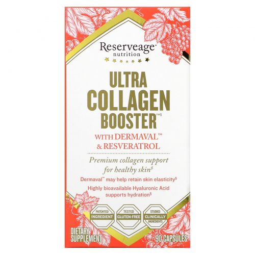 ReserveAge Nutrition, Ультраколлагеновый усилитель, 90 капсул