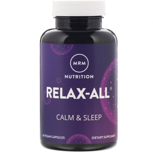 MRM, Relax - All, 60 растительных капсул