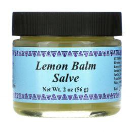 WiseWays Herbals, LLC, Лимонный лечебный бальзам, 2 унции (60 г)