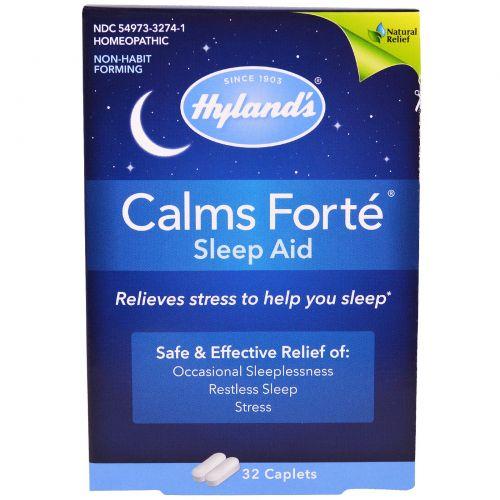 Hyland's, Calms Forte, Помощь Сну, 32 таблетки