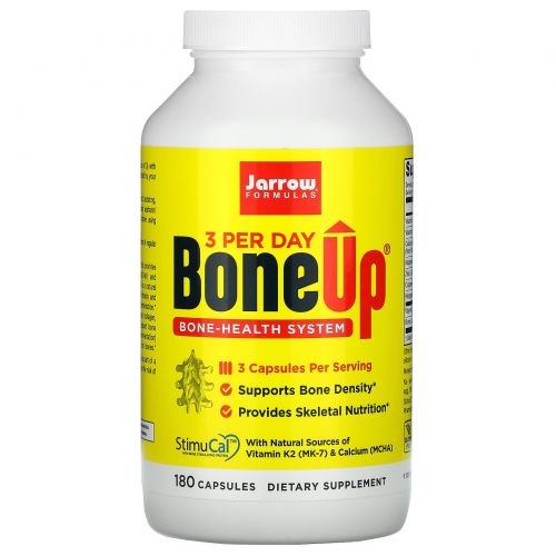 Jarrow Formulas, Bone-Up, 180 капсул