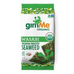 gimMe, Premium Roasted Seaweed, Wasabi , 0.35 oz (10 g)