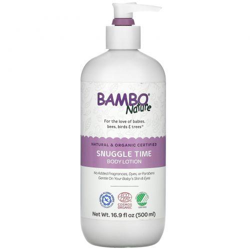 Bambo Nature, Snuggle Time Body Lotion, 16.9 fl oz (500 ml)