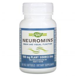 Nature's Way, EFAGold, Нейромины, 60 растительных желатиновых капсул