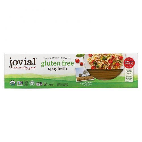 Jovial, Паста спагетти из коричневого риса, 340 г (12 унций)
