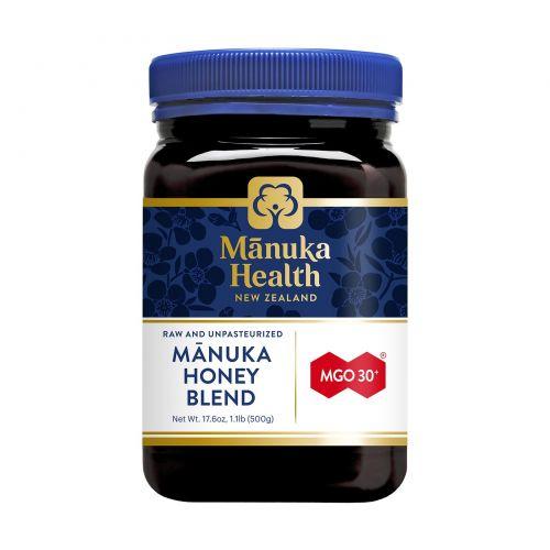 Manuka Health, Мед манука, метиглиоксал 30+, 1,1 фунта (500 г)