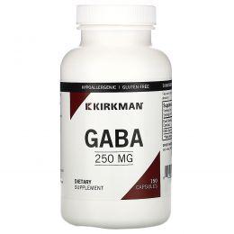 Kirkman Labs, GABA, 250 мг, 150 капсул