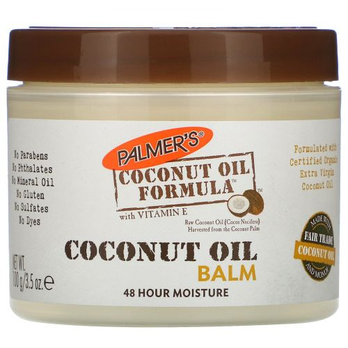 Palmer's, Coconut Oil Formula, Coconut Oil Balm, 3.5 oz (100 g)