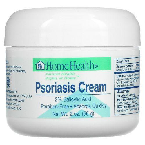Home Health, Крем от псориаза, 2 унции (56 г)