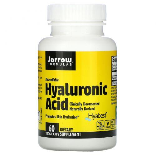 Jarrow Formulas, Гиалуроновая кислота, 50 мг, 60 овощных капсул