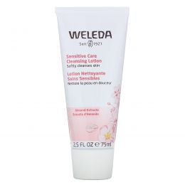 Weleda, Очищающий лосьон для чувствительной кожи с экстрактом миндалем, 2,5 ж. унц. (75 мл)