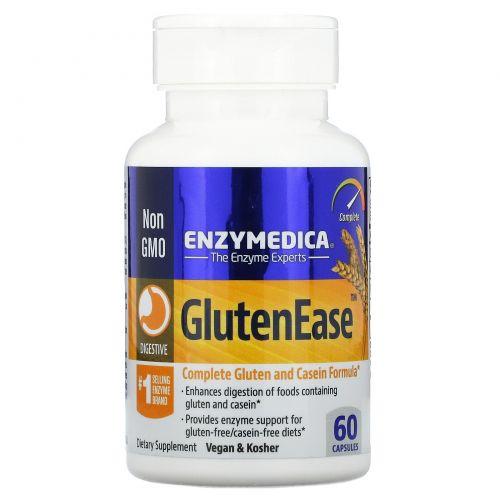 Enzymedica, GlutenEase, 60 капсул