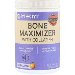 MRM, Bone Maximizer with Collagen, Natural Orange, 0.69 lb (315 g)