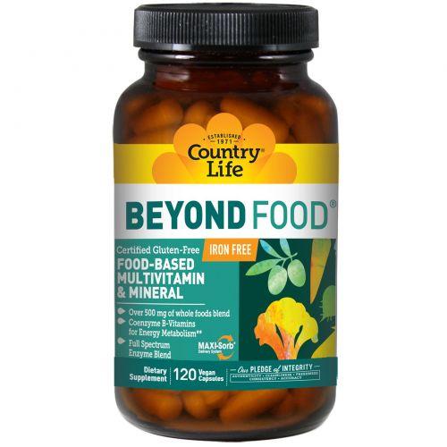 Country Life, Beyond Food, 120 растительных капсул