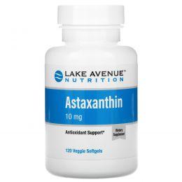 Lake Avenue Nutrition, Astaxanthin, 10 mg, 120 Veggie Softgels